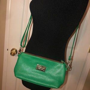 Green MK crossbody bag